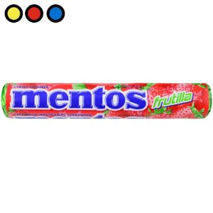 caramelos mentos frutilla precios