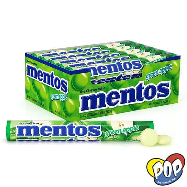 caramelos mentos manzana verde venta online