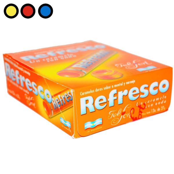 caramelos refresco naranja venta mayorista