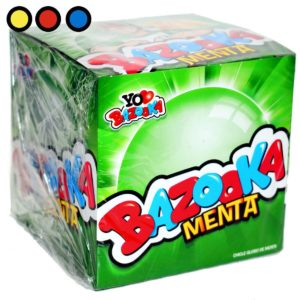 chicle bazooka menta