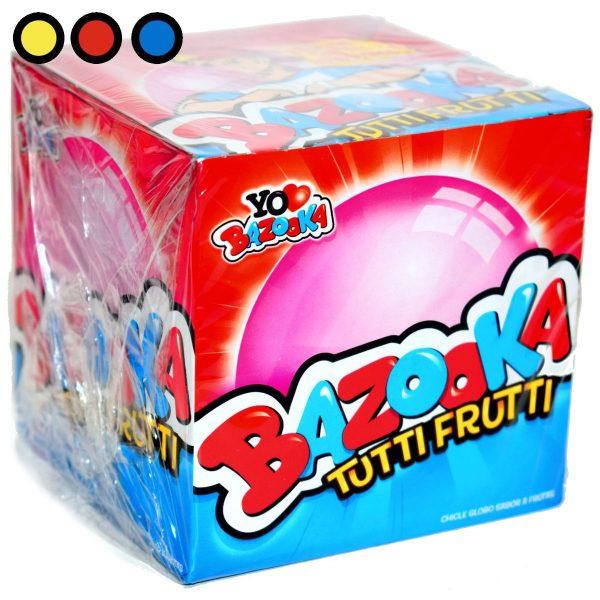chicle bazooka tutti frutti precio