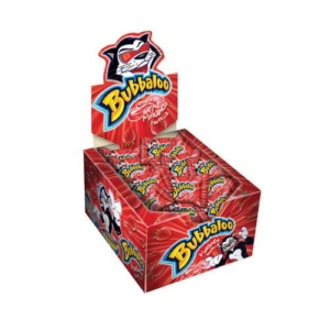 chicle Bubbaloo frutilla venta