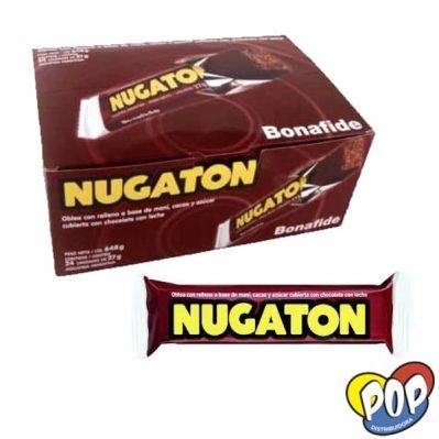 chocolate bonafide nugaton leche por mayor