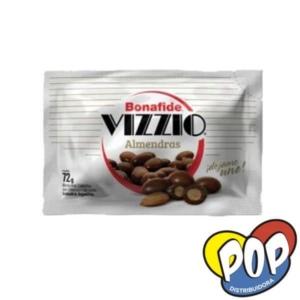 chocolate bonafide vizzio almendra 72gr. precios