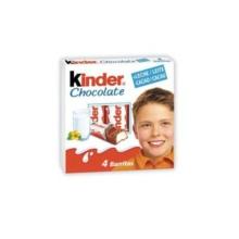 chocolate Ferrero Kinder barrita catalogo