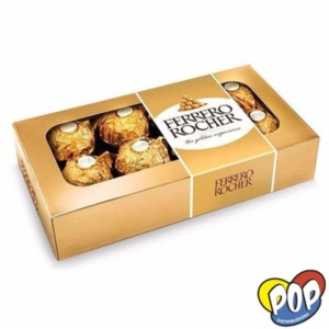 chocolate ferrero rocher pack 8 unidades