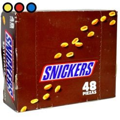 chocolate snickers venta mayorista