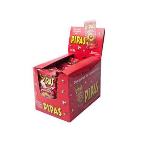 golosina Pipas Rojas kiosco