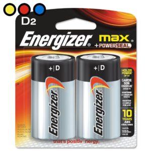 pilas energizer d grandes distribuidor