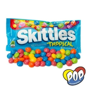 skittles tropical caramelos