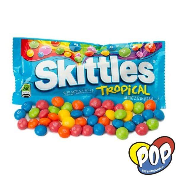 skittles tropical caramelos