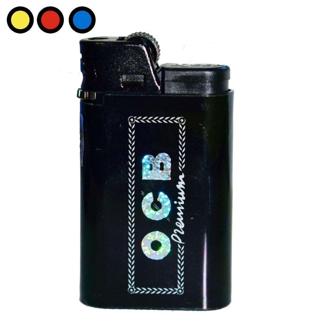 encendedor ocb premium negro