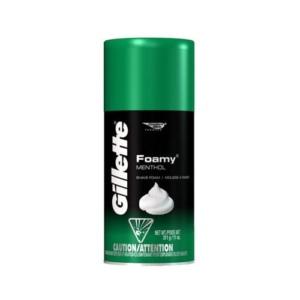 Gillette espuma foamy mentol 312 gr kiosco