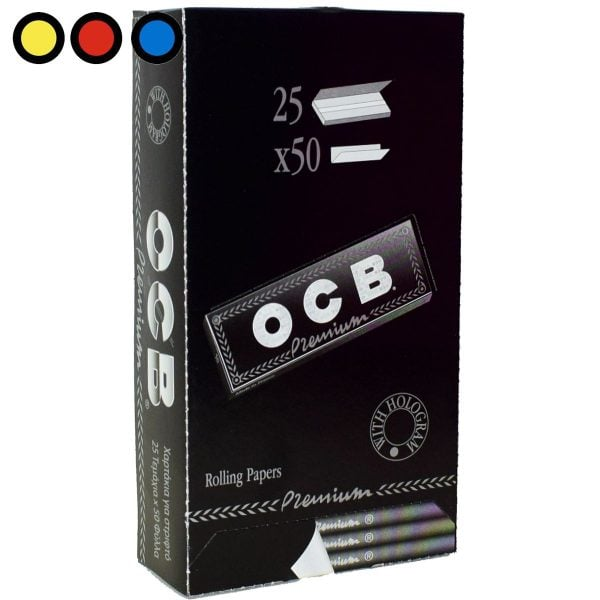 papel ocb negro premium precio por mayor