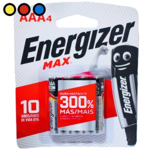pilas energizer aaa 4ux10