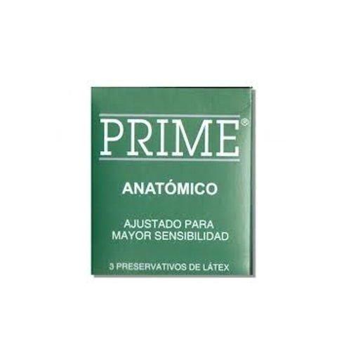 preservativo Prime anatómico verde kiosco