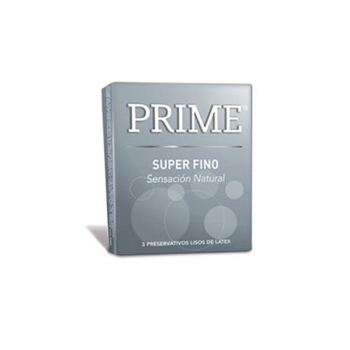 preservativo Prime super fino gris oferta