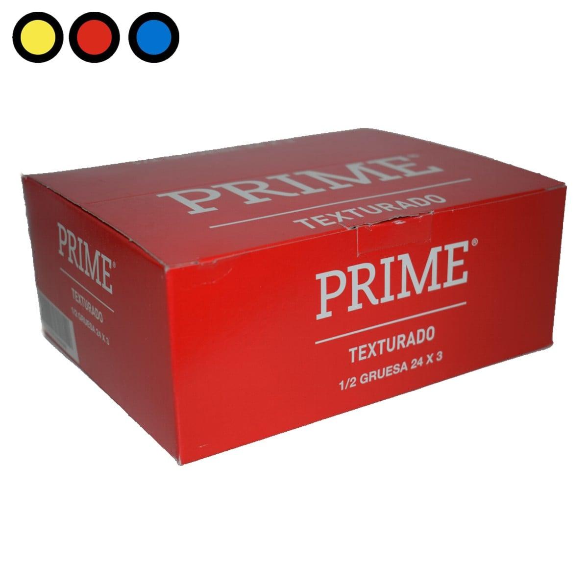 preservativo prime texturado kiosco