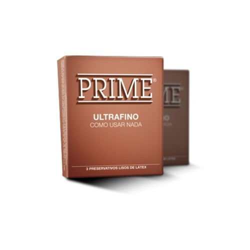 preservativo Prime ultra fino ocre mayorista