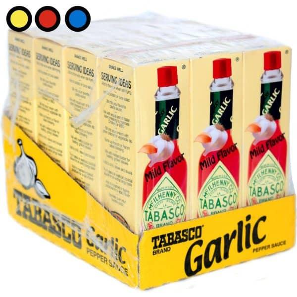 salsa tabasco garlic condimentos importados