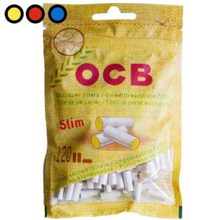 filtros ocb slim eco tabaqueria mayorista