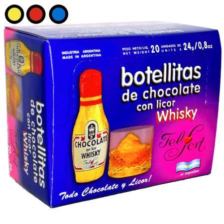 chocolate felfort licor whisky precio distribuidor