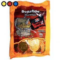 moneda de chocolate bonafide precio