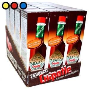 salsa tabasco ahumada 150ml precio mayorista
