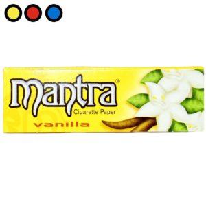 papel saborizado mantra vainilla