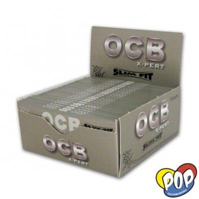ocb papel slim fit xpert gris precios online
