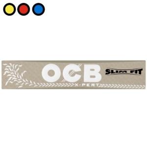 papel ocb xpert slim gris king size precio