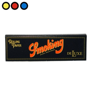 papel smoking black deluxe oferta