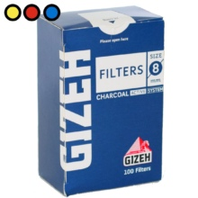 filtros gizeh regulares carbon fumador