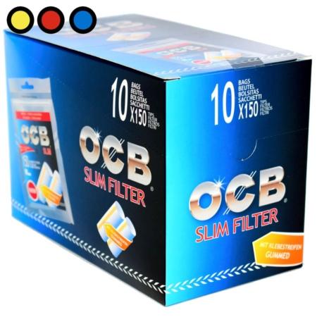 ocb filtros slim engomados precio mayorista