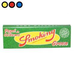 papel smoking green fumador