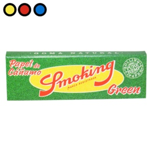 papel smoking green fumador