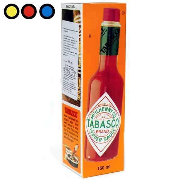 salsa tabasco rojo precio