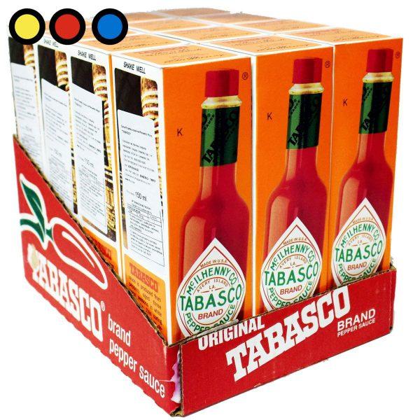 salsa tabasco rojo venta mayorista
