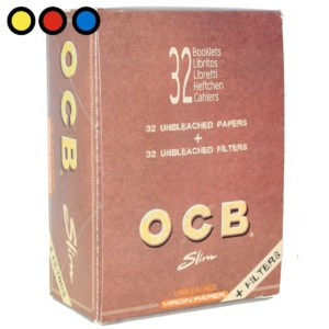 papel ocb no blanqueado slim tips