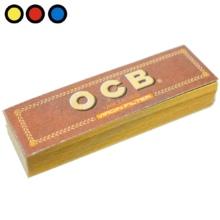 filtros ocb carton no blanqueado precio tabaqueria