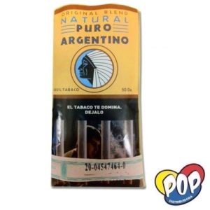 Tabaco Puro Argentino Natural