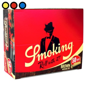 filtros de carton smoking no blanqueado precios