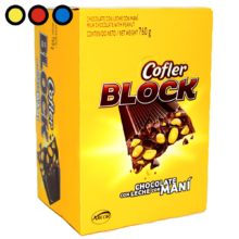 chocolate cofler block 38gr mayorista