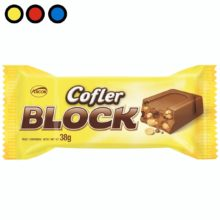chocolate cofler block 38gr mayorista online