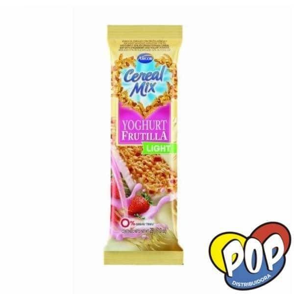 barra cereal mix yoghur frutilla light
