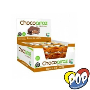 chocoarroz alfajor gallo dulce de leche
