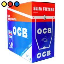 filtros ocb slim cigarrillos precios