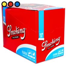 filtros smoking slim blue venta