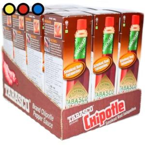 salsa tabasco ahumada chipotle precio por mayor