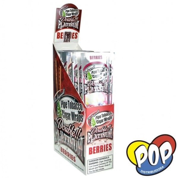 papel blunt wrap berries fumar